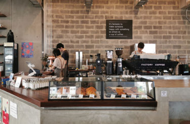 「Factory Coffee 」バンコクで一番有名なカフェの実力は本物だった。