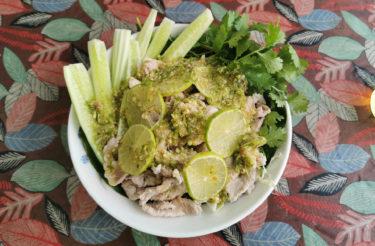 さっぱり辛いタイ・イサーン料理「ムーマナオ」。タイに行ったらこれ食べよう vol.01